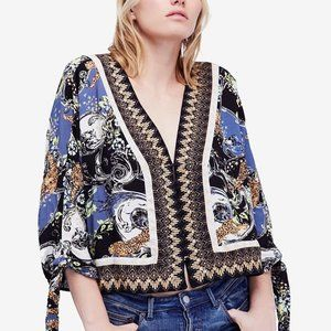 Free People Catch Me If You Can Blouse Top